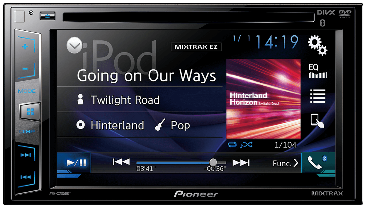 Pioneer | AVH-X2850BT | Car Audio & Video, Car Entertainment
