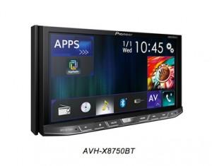 Pioneer Car Audio & Video AVH-X8750BT