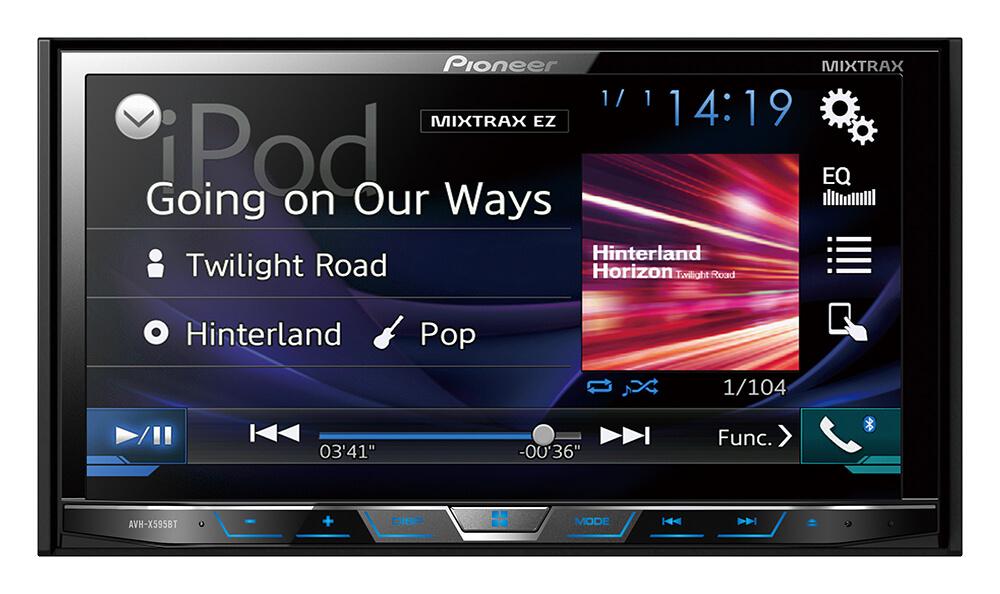 Pioneer | AVH-X595BT | Buy DVD Multimedia AV Receiver from Pioneer