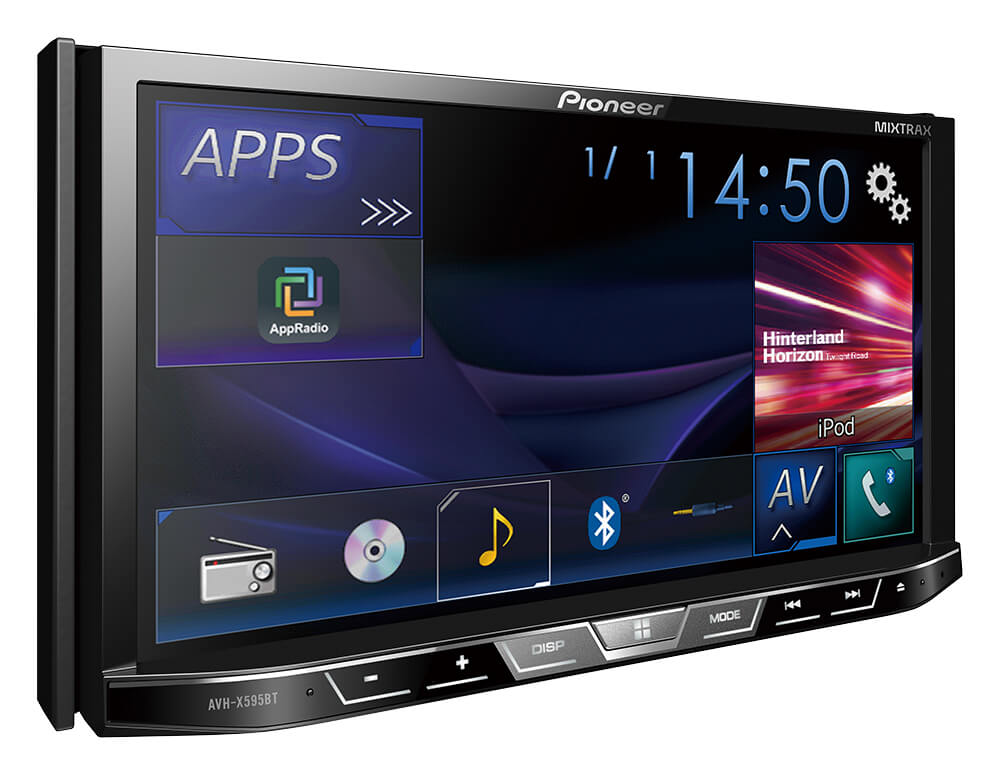 Pioneer Avh X595bt Buy Dvd Multimedia Av Receiver From