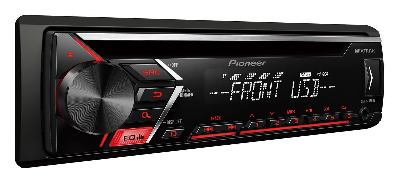 pioneer deh s1050ub car audio cd receivers pioneer. Black Bedroom Furniture Sets. Home Design Ideas