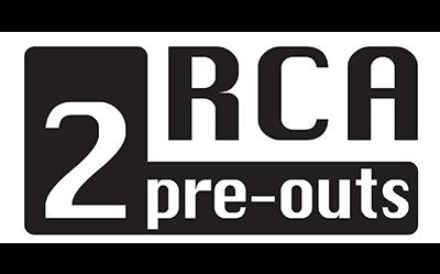 2 RCA Pre-outs